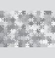 grey 150 puzzles pieces jigsaw vector image vector image