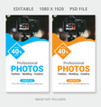instagram stories pack vector image
