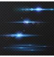 Light effect flare lighting vector image vector image