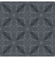 medieval dark grey pattern vector image vector image