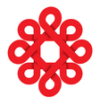 redflower vector image vector image