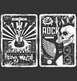 rock concert music band festival grunge poster