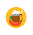 traditional german beer festival oktoberfest vector image