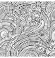 Abstract decorative hand drawn nature vector image vector image