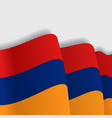 armenian waving flag