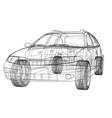 concept car rendering of 3d