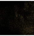 Gold glitter texture vector image vector image