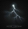 lightning flash bolt vector image vector image