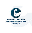 national personal trainer awareness day january 2