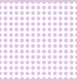 pink circles seamless pattern vector image vector image