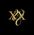 Xx x x logo initial mark