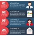 Flat Business Infographic Background