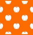 ripe apple pattern seamless vector image vector image