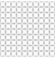 black modern wavy shared circles pattern on white vector image vector image