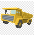 Building truck Tipper cartoon vector image