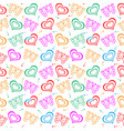 butterfly love hand drawn pattern vector image vector image