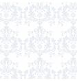 Elegant Vintage floral ornament pattern vector image