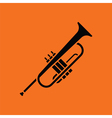 Horn icon vector image vector image