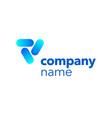 logotype branding marketing template vector image
