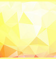 abstract polygonal mosaic background vector image vector image