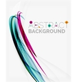 Blue and purple color abstract template vector image