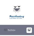 Creative bat logo design flat color logo place