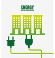energy power design vector image vector image
