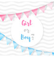 girl or boy vector image vector image