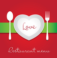 Love menu vector | Price: 1 Credit (USD $1)
