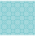 Seamless snowflakes background geometric pattern vector image vector image