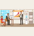 startup technology flat vector image