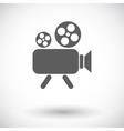 Videocamera vector image vector image
