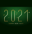 2021 new year happy chinese eve logo background vector image vector image