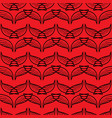 angel wings red sketch pattern vector image vector image