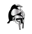 gladiator helmet vector image