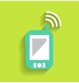 Phone tablet communication icon vector image vector image