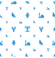 religious icons pattern seamless white background vector image vector image