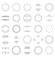 set elements vector image