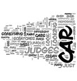 what judges look for at car shows text word cloud vector image vector image