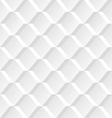 White geometric seamless background vector image vector image