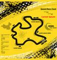 yellow grunge race circuit background