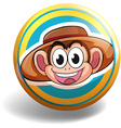 Badge vector image