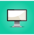 Mock up Monitor isolated vector image