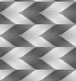 Monochrome striped light and dark chevron vector image vector image