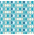 Ovals colorful abstract background vector image vector image