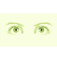 patterns eye vector vector image