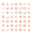 progress icons vector image vector image