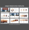 set of colored elements for multipurpose vector image vector image
