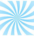 sun rays background blue radiate sun beam burst vector image vector image