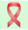 The symbol of the fight against breast cancer vector image vector image